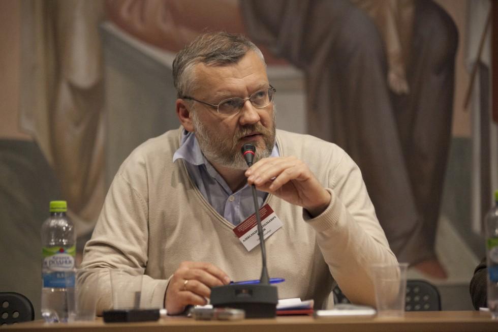 Выступление Александра Бурова, старшего научного сотрудника Государственного музея истории религии, «Спор о братстве в пореволюционном РСХД»