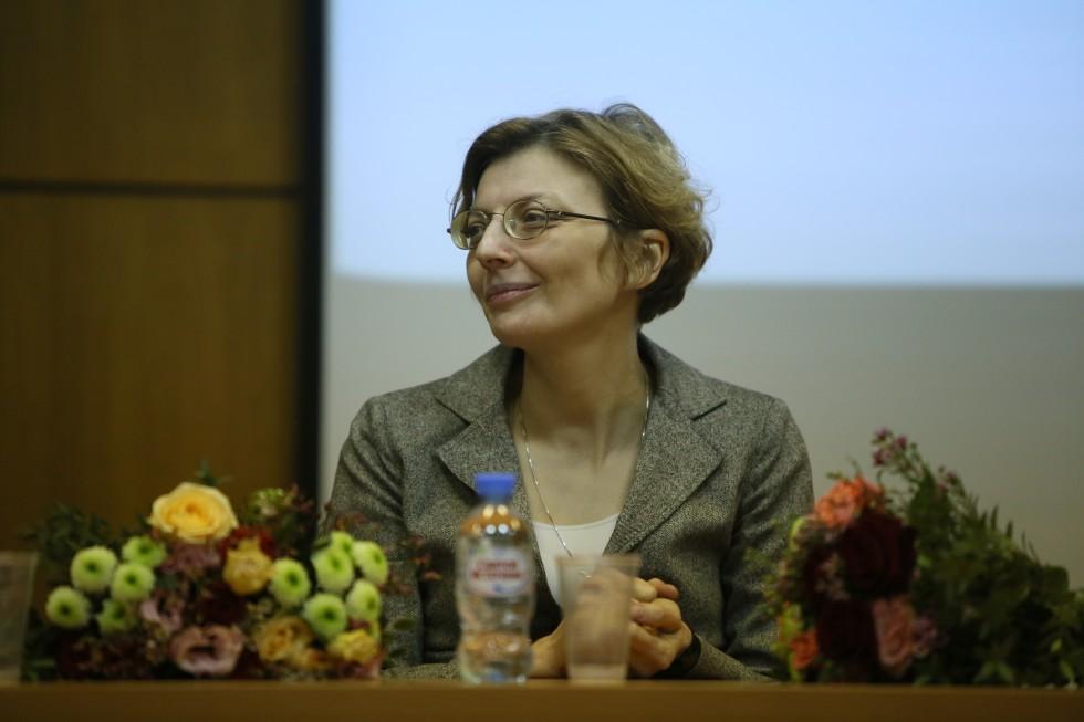 Зоя Михайловна Дашевская, декан богословского факультета СФИ