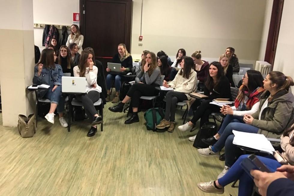 Встреча со студентами 3 курса отделения социальной работы