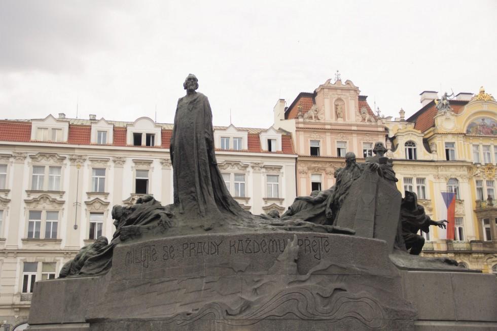 Памятник Яну Гусу в Праге