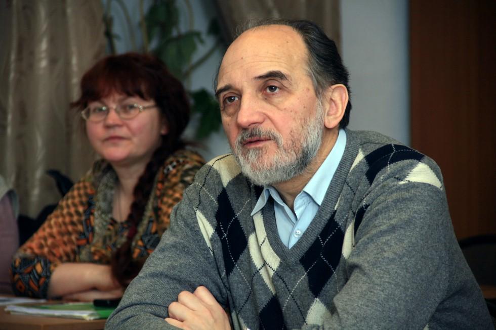 Александр Михайлович Копировский, ученый секретарь, профессор кафедры богословских дисциплин и литургики
