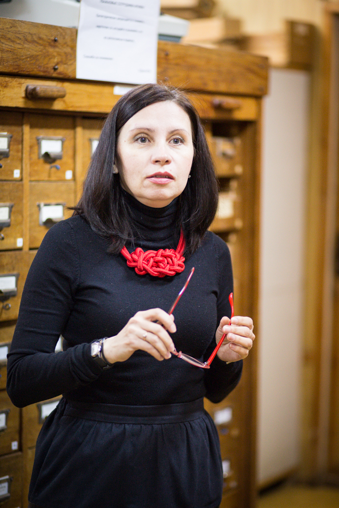 Марина Анатольевна Чертилина, главный специалист отдела информационного обеспечения РГАКФД