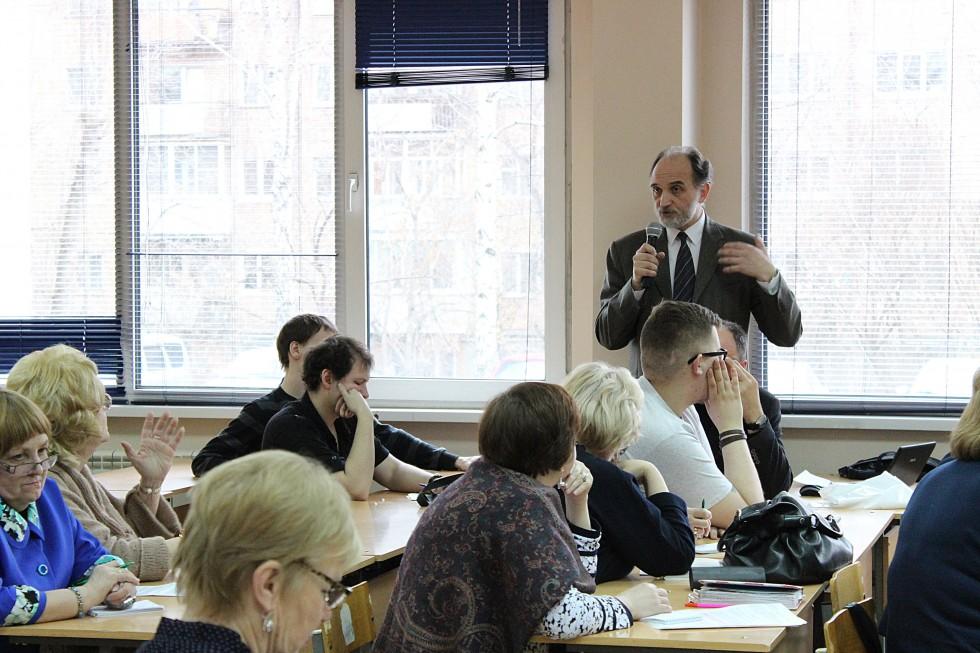 Александр Михайлович Копировский, кандидат педагогических наук, профессор Свято-Филаретовского института