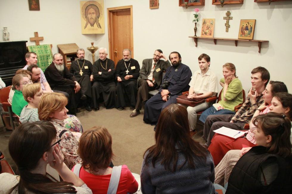 Встреча богословской делегации из Румынии с выпускниками и студентами СФИ