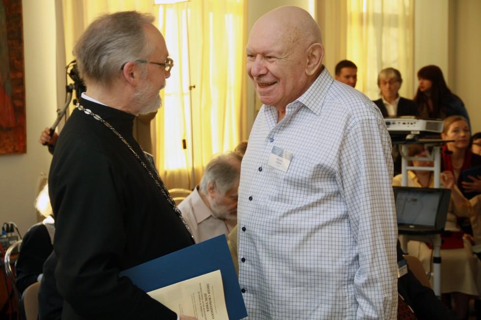 Священник Георгий Кочетков и Теодор Шанин