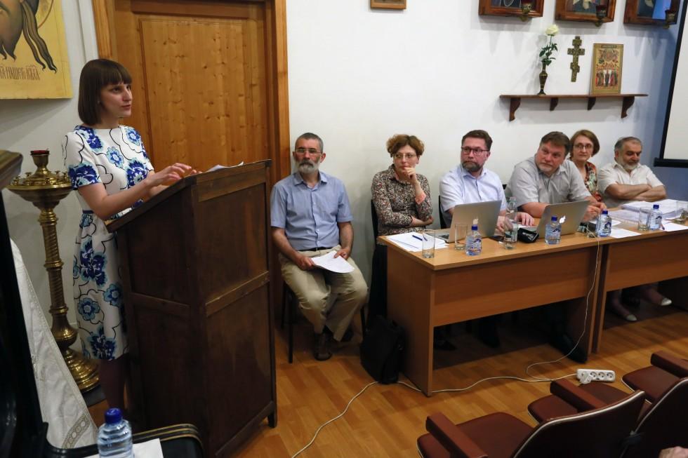 Мария Синицкая, автор работы «Формирование чинопоследования монашеского пострига в Византии вV–XIV веков»