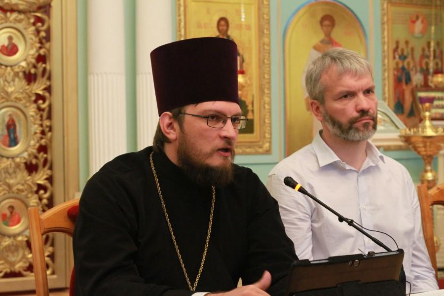 Председатель Епархиального миссионерского отдела иерей Антоний Русакевич