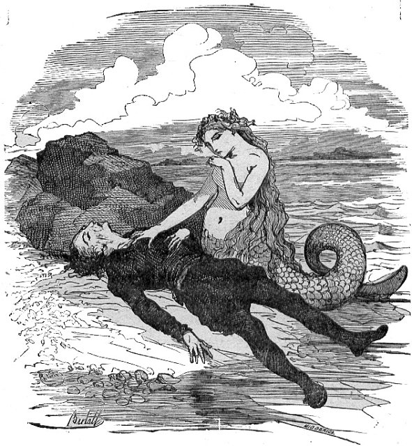 Иллюстрация Берталла к сказке «Русалочка». Фото: Wikimedia
