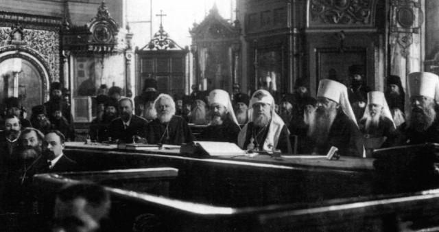 «Группа 32-х», Христианское братство борьбы, Поместный собор