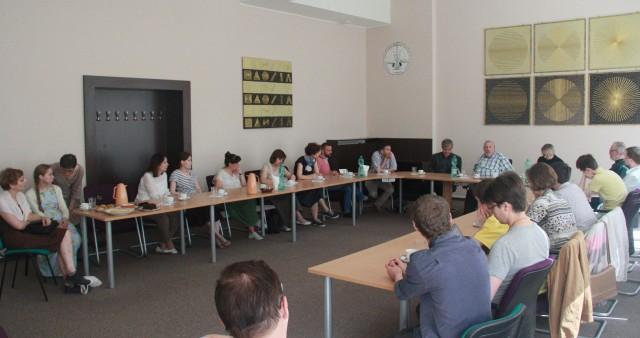 Представители СФИ посетили Гуситский богословский факультет Карлова университета