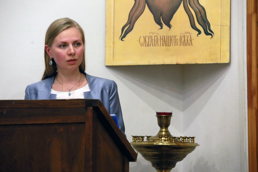 Анна Савик, автор работы «Объединение «Православное дело» и его христианское служение воФранции в 1935–1940-е годы»