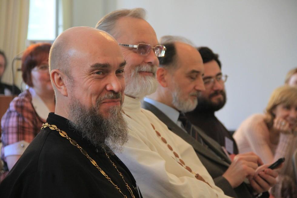 Игумен Дмитрий Рябцев, священник Георгий Кочетков