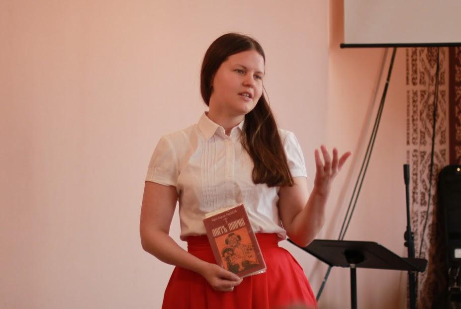 Анна Лискова, студентка богословского факультета СФИ