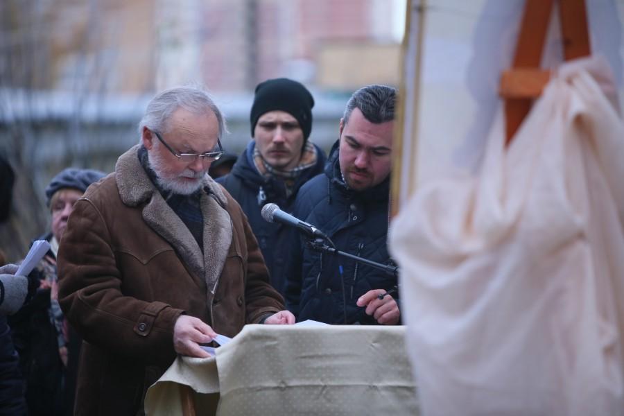 «Молитва памяти» в поселке Глебовский Московской области