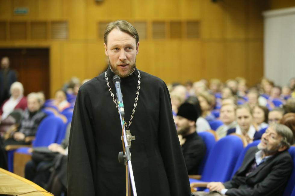 Протоиерей Сергий Гудков,проректор Кузбасской духовной семинарии по воспитательной работе
