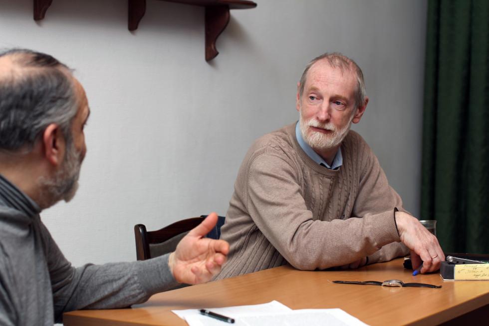 Григорий Борисович Гутнер, доктор философских наук,заведующий кафедрой философии, гуманитарных и естественнонаучных дисциплин СФИ