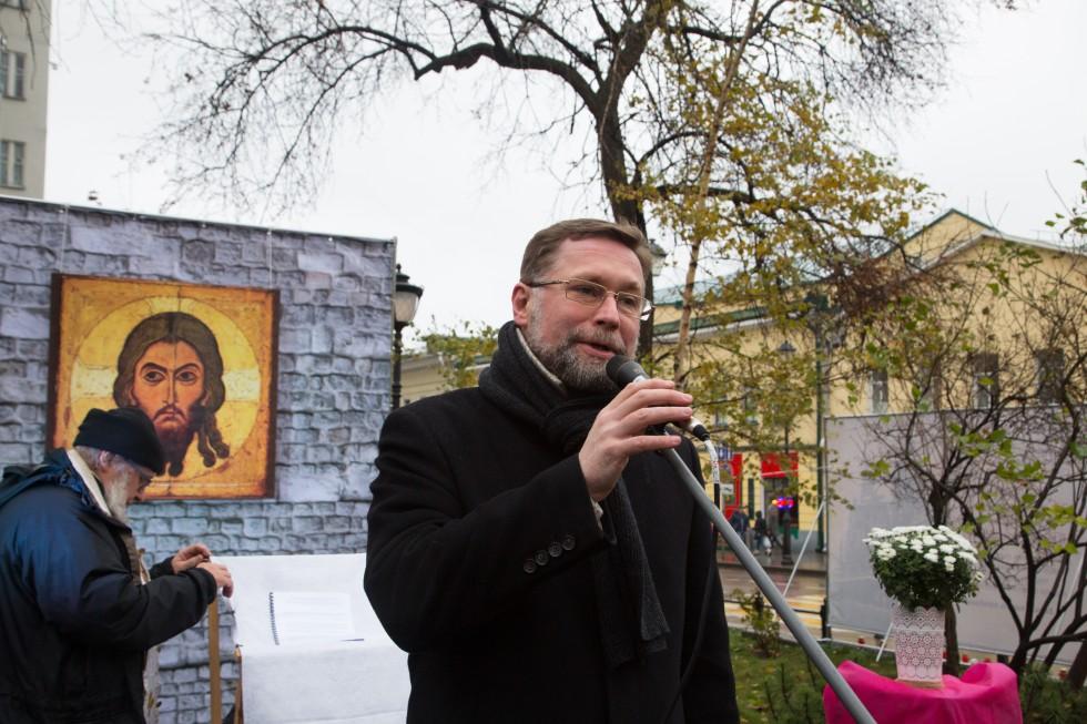 Дмитрий Сергеевич Гасак. «Молитва памяти» на Покровке