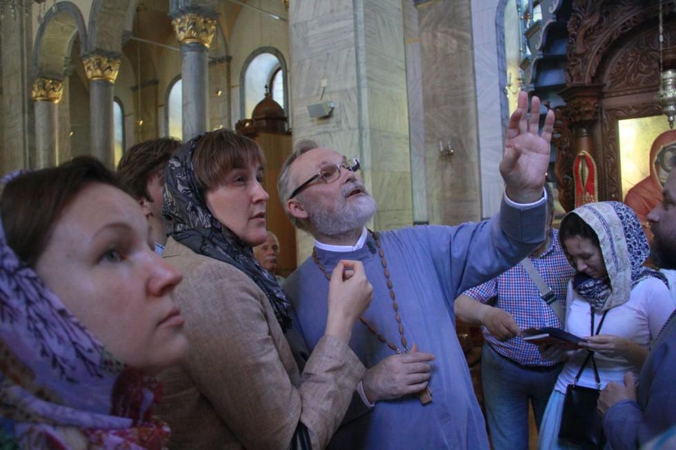 В кафедральном соборе в Лимассоле