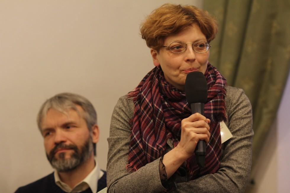 Председатель оргкомитета Сретенских чтений Зоя Дашевская, декан богословского факультета СФИ