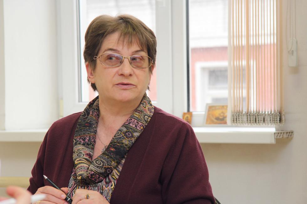 Ella Rozhkova, lecturer in History