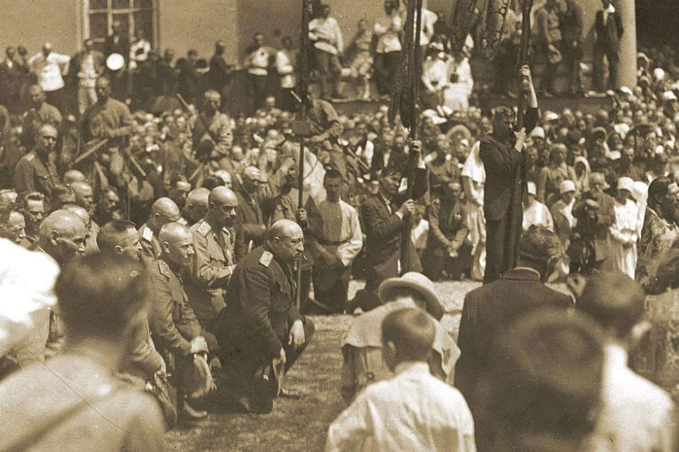 Крымская эвакуация в ноябре 1920 года