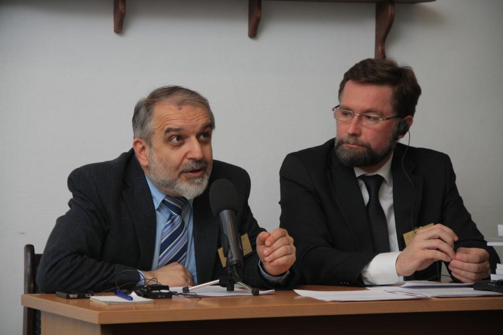 Давид Гзгзян и Дмитрий Гасак