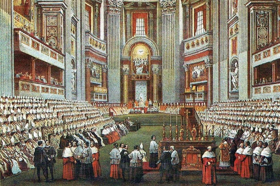 Первый Ватиканский Собор. Источник: Wikimedia Commons.