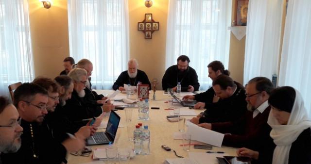 Состоялось заседание Комиссии Межсоборного присутствия по организации церковной миссии