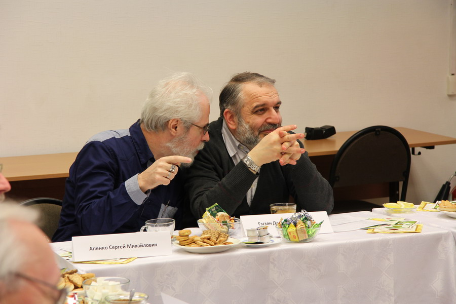Sergey Apenko, Senior Research Associate at the P. N. Lebedev Institute of Physics of the RAS, Professor at St Philaret`s Institute, and David Gzgzyan, Head of the Department of Theological Studies and Liturgics at St Philaret`s Institute