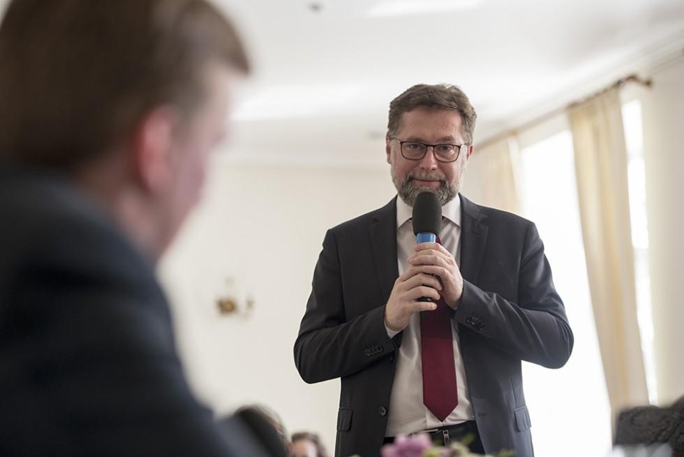 Дмитрий Гасак, председатель Преображенского братства, проректор Свято-Филаретовского института