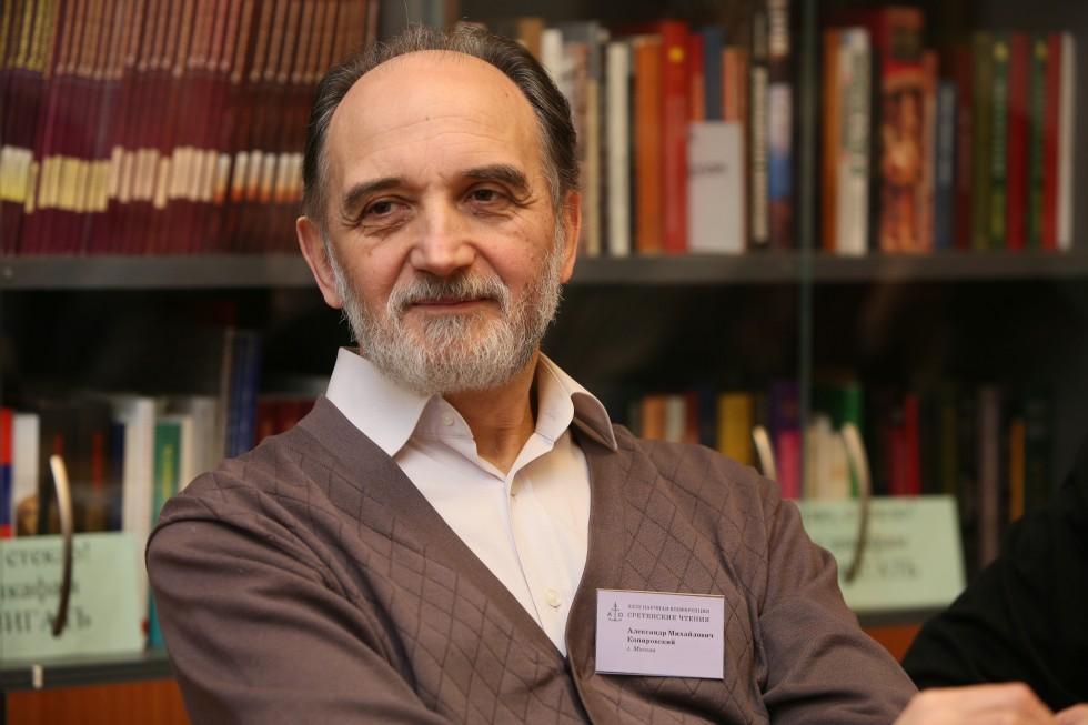 Александр Копировский, заведующий кафедрой богословия СФИ