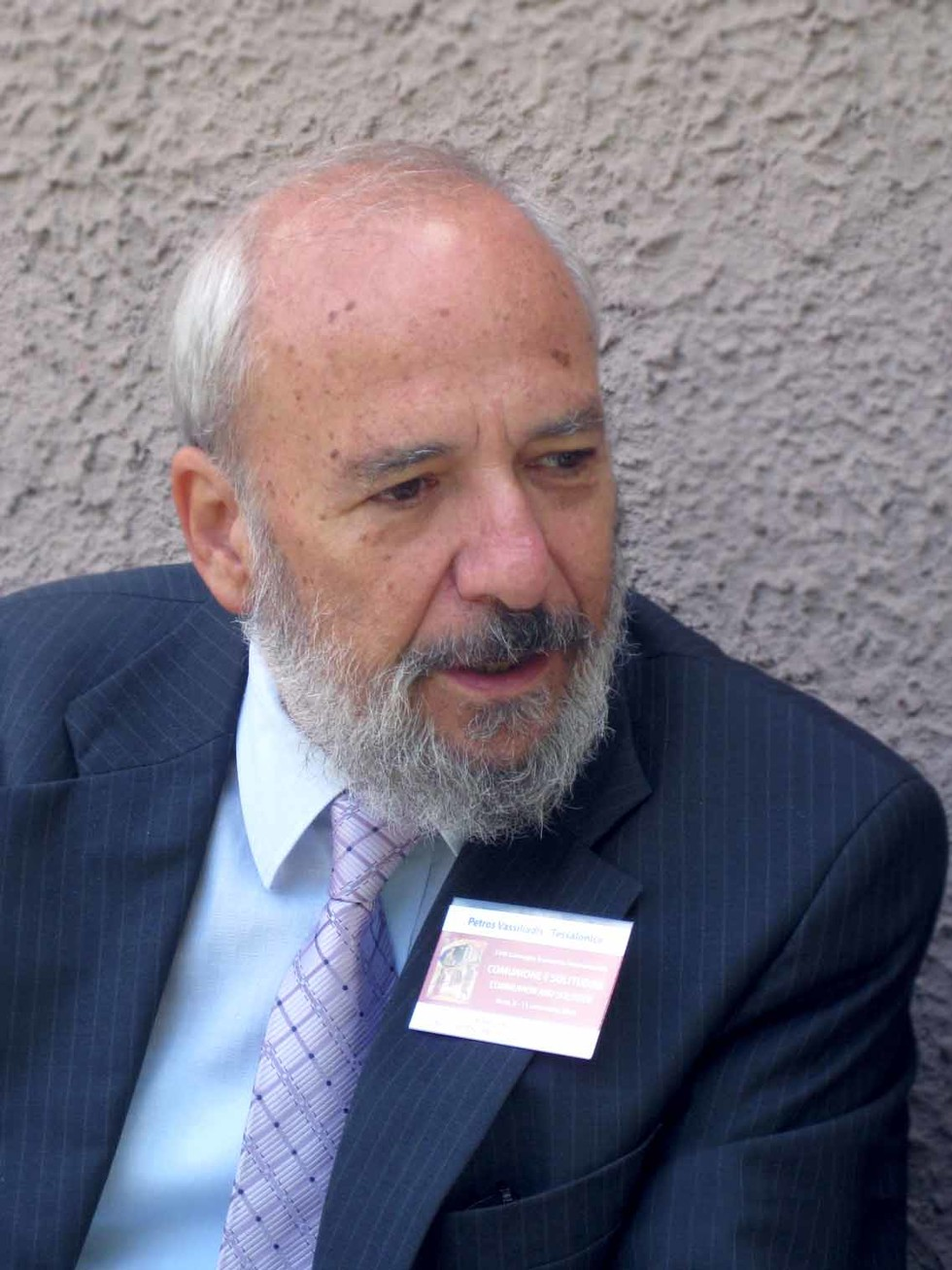Petros Vassiliadis, Emeritus Professor at the School of Theology, Aristotle University of Thessaloniki, President of the World Conference of Associations of Theological Institutions (WOCATI)