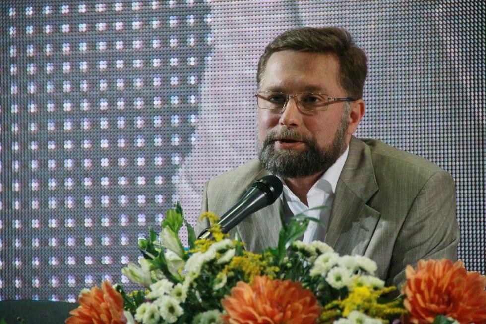 Председатель Преображенского братства, первый проректор СФИ Дмитрий Гасак