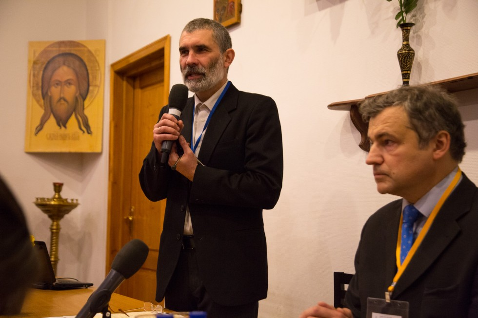 Константин Петрович Обозный, кандидат исторических наук, заведующий кафедрой церковно-исторических дисциплин СФИ