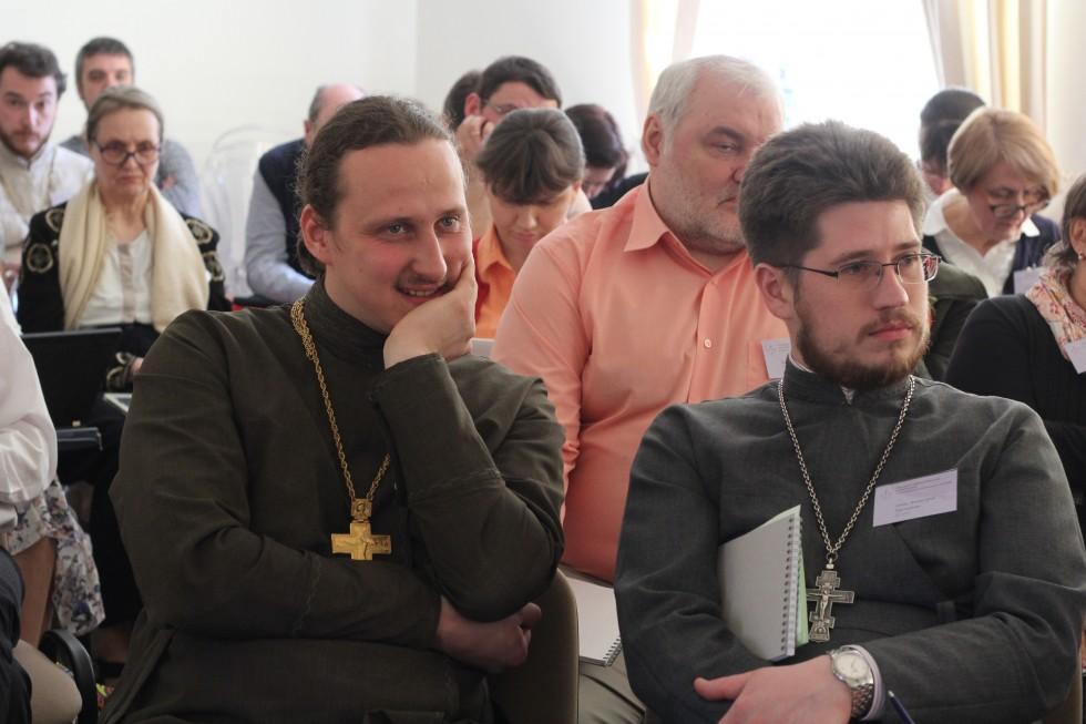 Священник Петр Боев и священник Дмитрий Третьяков