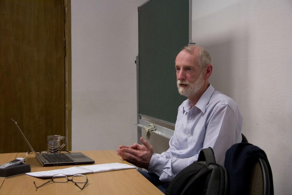 Григорий Борисович Гутнер, доктор философских наук, заведующий кафедрой философии, гуманитарных и естественнонаучных дисциплин СФИ