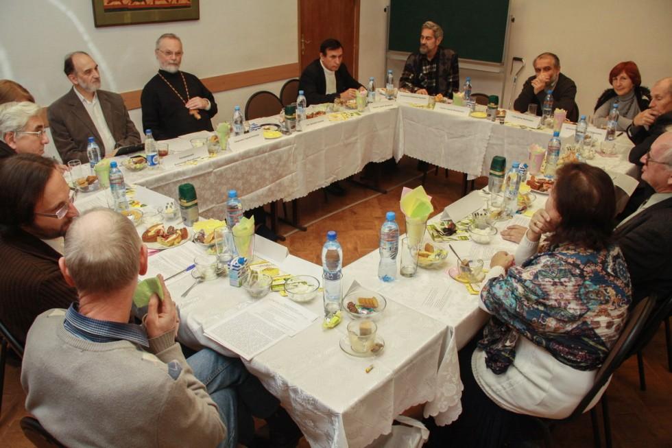 заведующий кафедрой богословских дисциплин и литургики СФИ Священник Георгий Кочетков