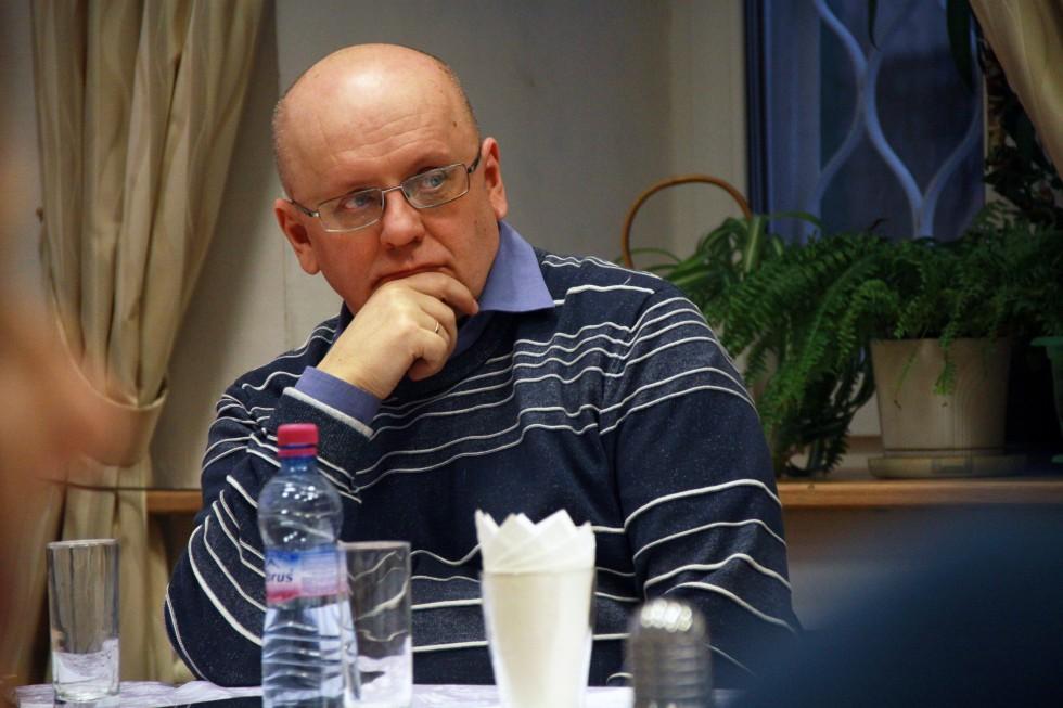 Руслан Лошаков, профессор кафедры философии СФИ, профессор Уппсальского университета (Швеция)