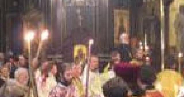 1 мая 2004 г. В Александро-Невском соборе Парижа начался торжественный акт канонизации новопрославленных святых