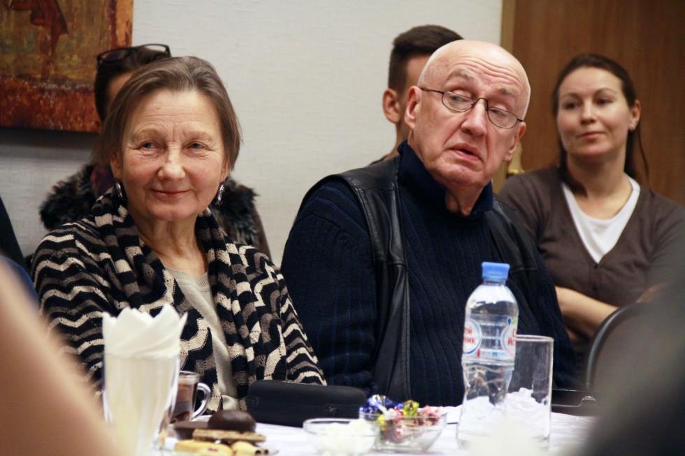 Татьяна Панченко, преподаватель курса русской религиозной философии, и независимый исследователь Андрей Игнатьев