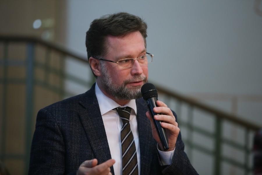 Дмитрий Гасак, первый проректор СФИ, председатель Преображенского братства