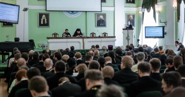 XI конференция «Актуальные вопросы современного богословия и церковной науки» состоялась в СПбДА