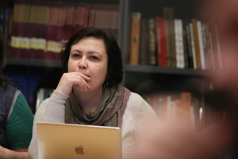 Марина Анатольевна Наумова, проректор СФИ по общим вопросам, магистрант программы «Современная православная теология и катехетика»