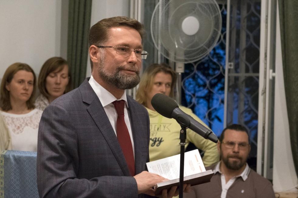 Дмитрий Гасак,первый проректор СФИ