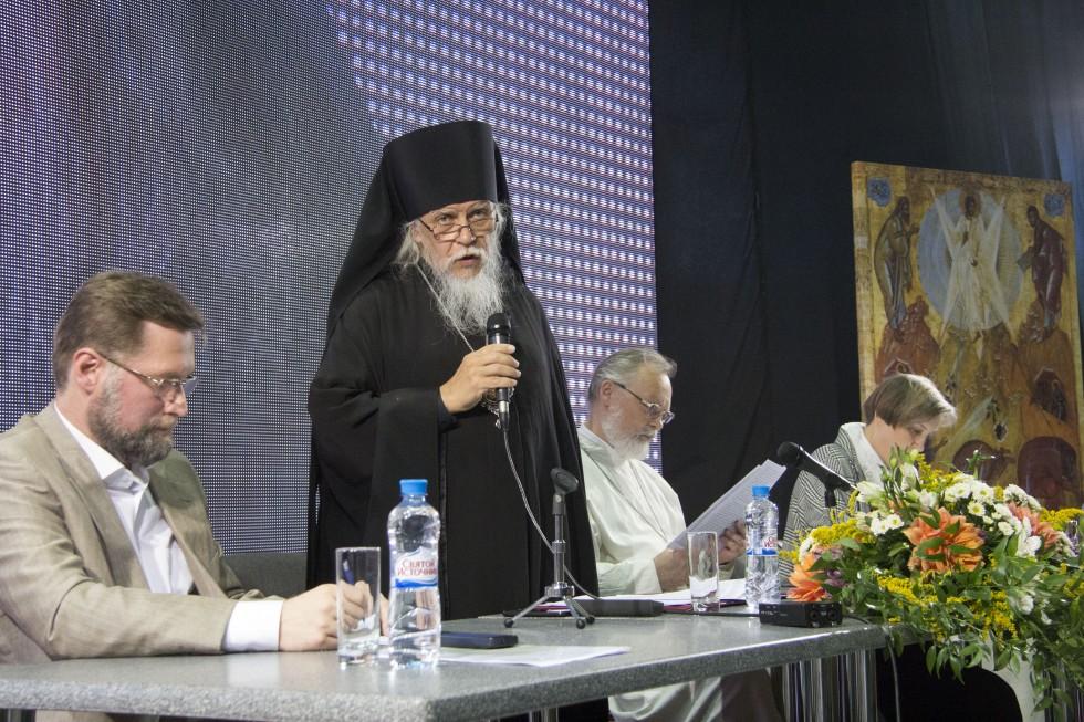 Епископ Орехово-Зуевский Пантелеимон передает отцу Георгию и членам Братства благословение и поздравления святейшего патриарха Кирилла