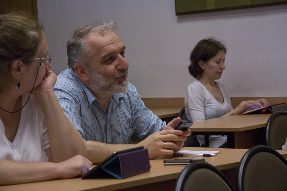 Давид Мкртичевич Гзгзян, кандидат филологических наук, заведующий кафедрой богословских дисциплин и литургики СФИ