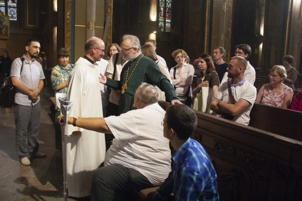 В соборе святых апостолов Петра и Павла