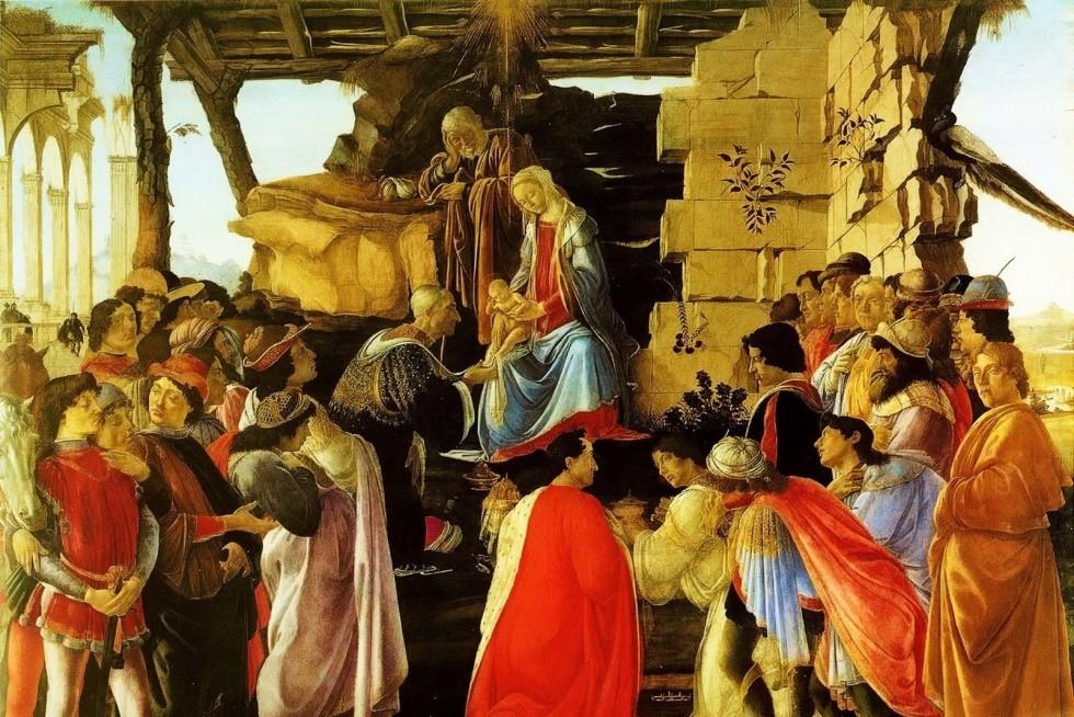 Сандро Боттичелли. Поклонение волхвов, ок. 1475