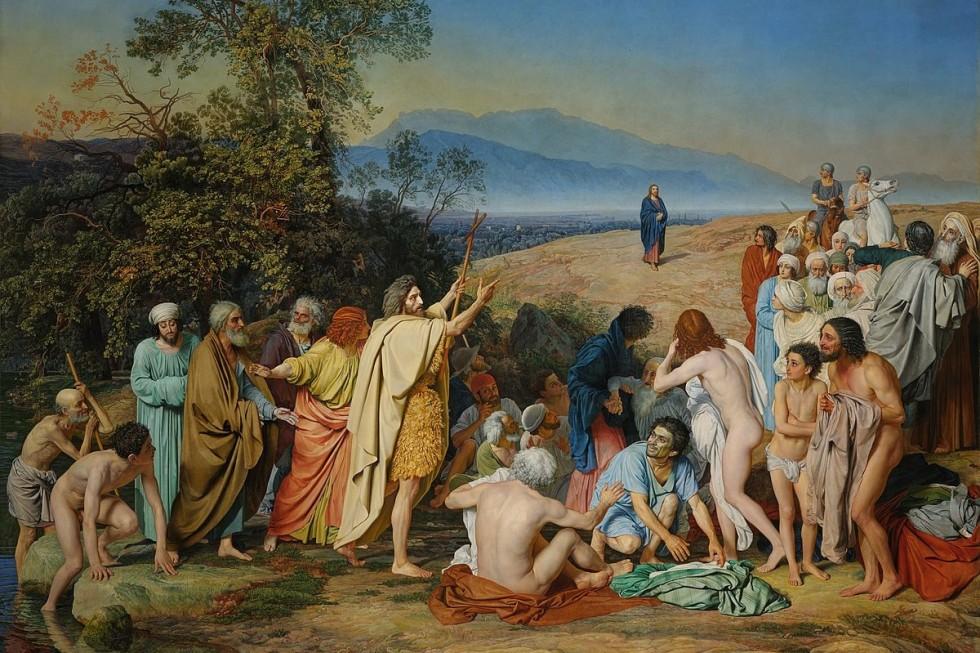 «Явление Христа народу» («Явление Мессии»). Александр Иванов