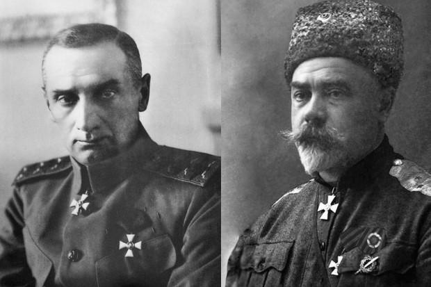 Александр Колчак и Антон Деникин. Фото: drugoivzgliad.com
